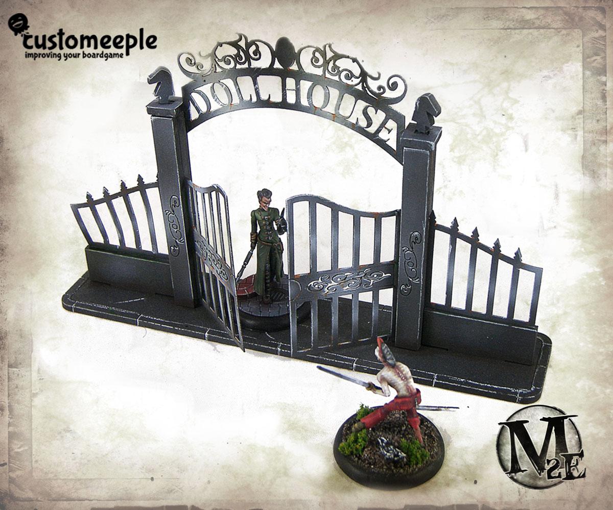 Malifaux Dollhouse Gate And Fences