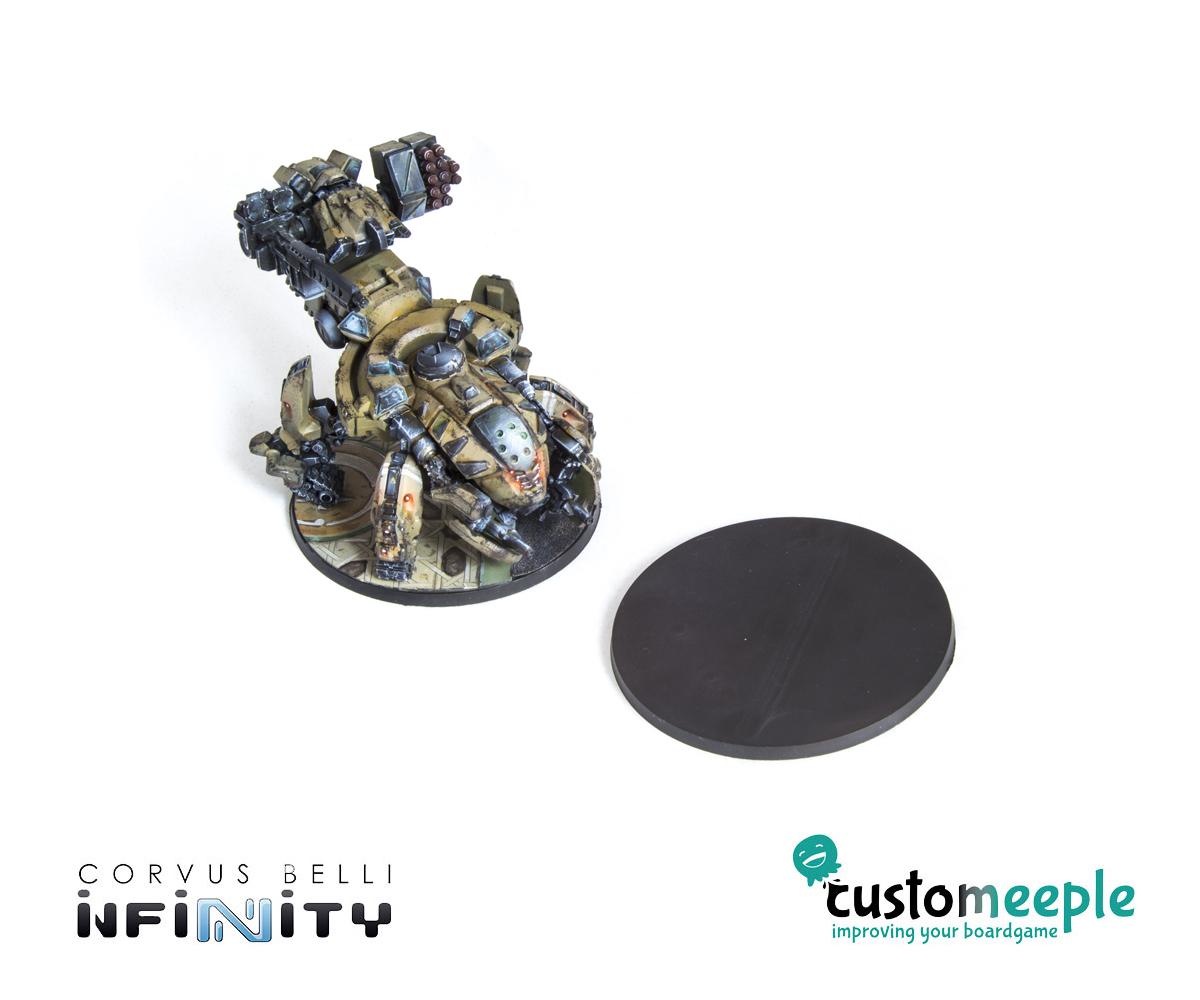 30 mm diameter - Thickness 3mm Wargame Bases Circular 15