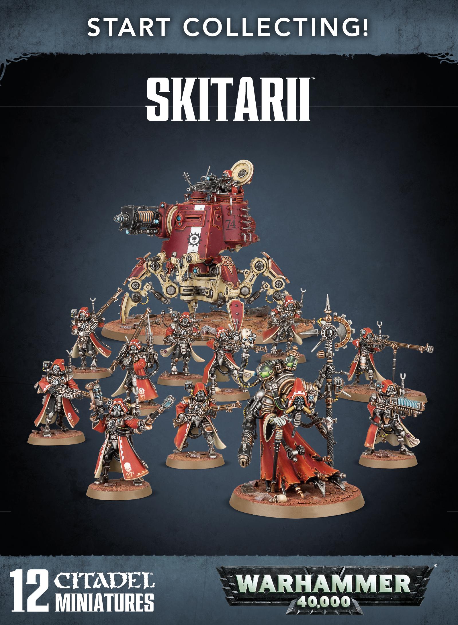 Skitarii 70-59 Start Collecting Warhammer 40K