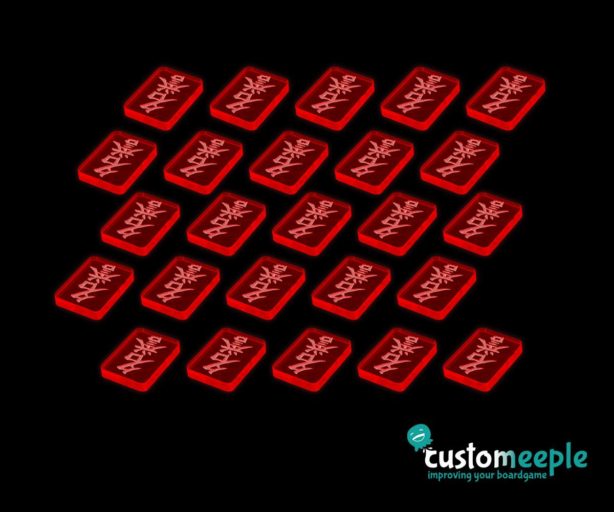 Honor Token Set L5R Compatible