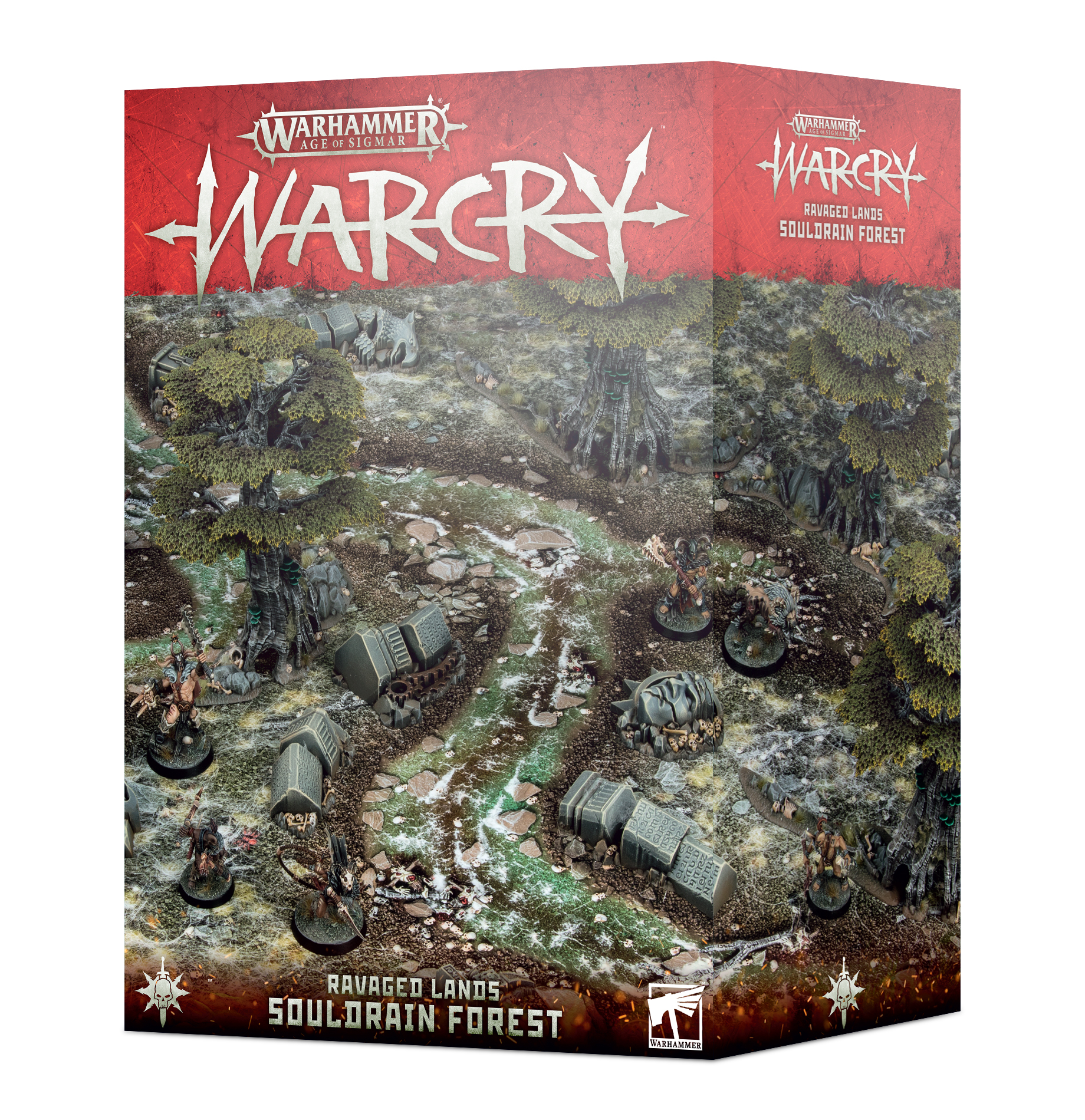 "WARHAMMER Age of Sigmar-warcry gaming board 22""x30/"""